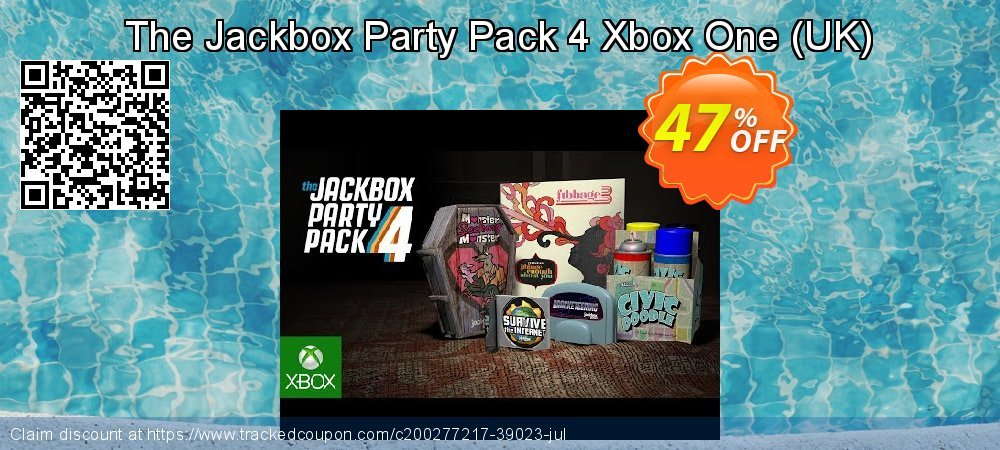 The Jackbox Party Pack 4 Xbox One - UK  coupon on World Bicycle Day offering discount