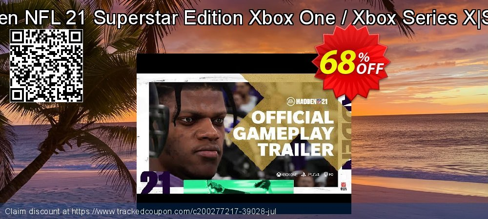 Madden NFL 21 Superstar Edition Xbox One / Xbox Series X S - UK  coupon on World Oceans Day sales