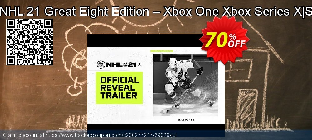 NHL 21 Great Eight Edition – Xbox One Xbox Series X|S coupon on National Kissing Day deals