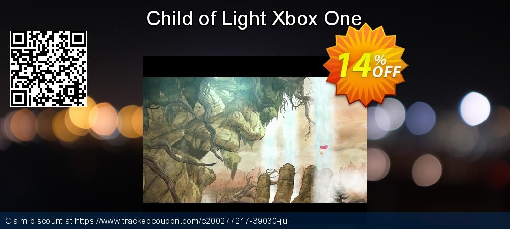 Child of Light Xbox One coupon on World Day of Music offer
