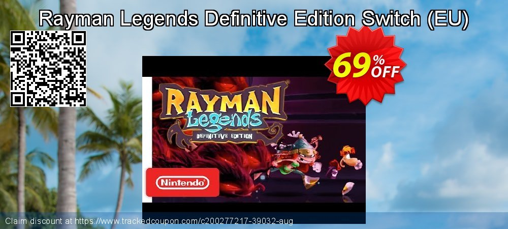 Rayman Legends Definitive Edition Switch - EU  coupon on Camera Day offering discount