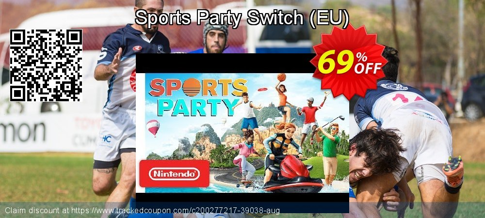 Sports Party Switch - EU  coupon on Egg Day deals