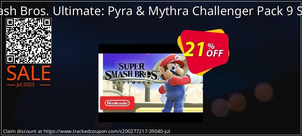 Get 15% OFF Super Smash Bros. Ultimate: Pyra & Mythra Challenger Pack 9 Switch (EU) offering sales