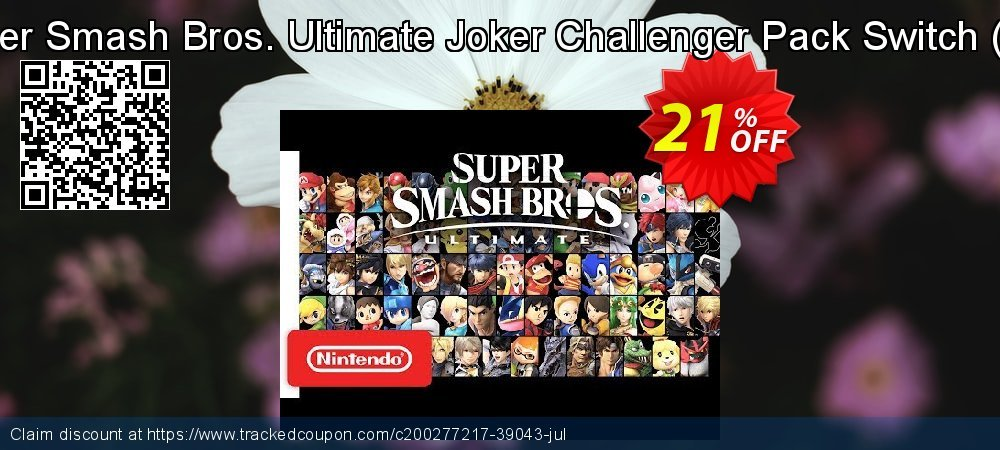Super Smash Bros. Ultimate Joker Challenger Pack Switch - EU  coupon on World Day of Music super sale
