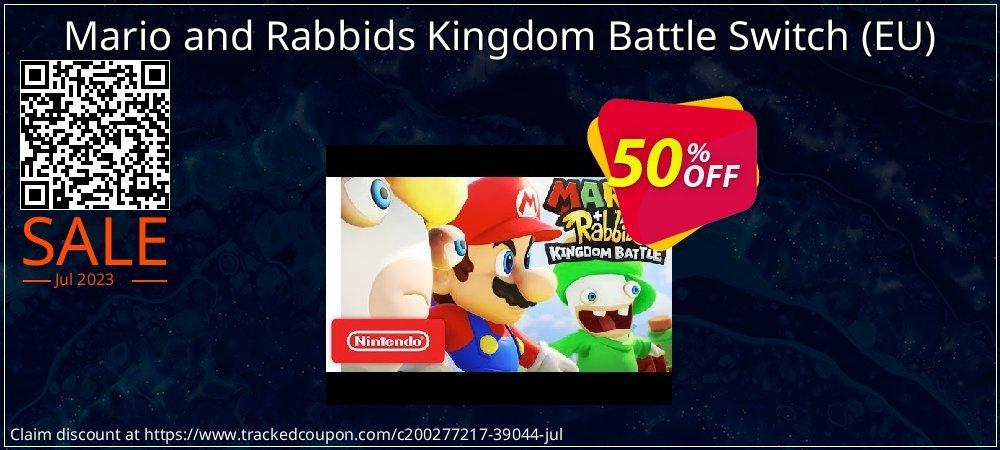 Mario and Rabbids Kingdom Battle Switch - EU  coupon on Hug Holiday discounts