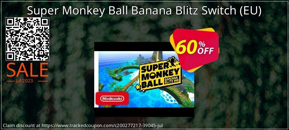 Super Monkey Ball Banana Blitz Switch - EU  coupon on Camera Day promotions