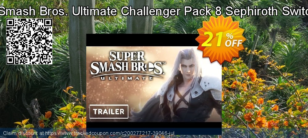 Super Smash Bros. Ultimate Challenger Pack 8 Sephiroth Switch - EU  coupon on Summer sales