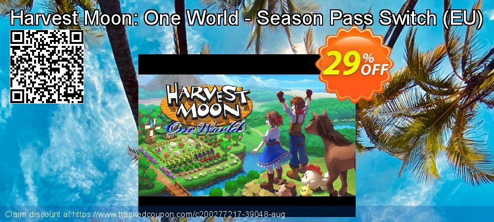Harvest Moon: One World - Season Pass Switch - EU  coupon on National Cheese Day offer