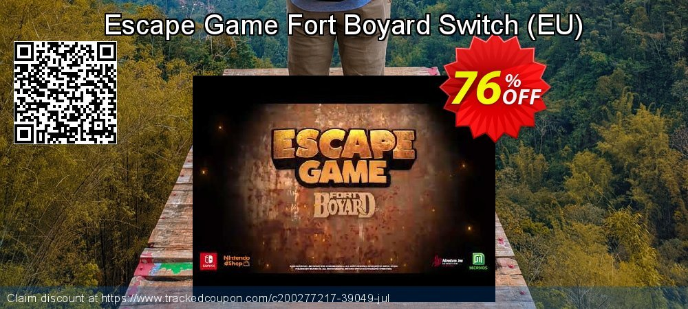 Escape Game Fort Boyard Switch - EU  coupon on World Bicycle Day discount