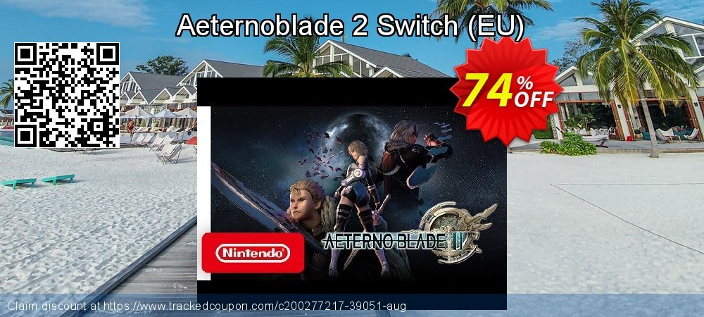 Aeternoblade 2 Switch - EU  coupon on Egg Day offering sales