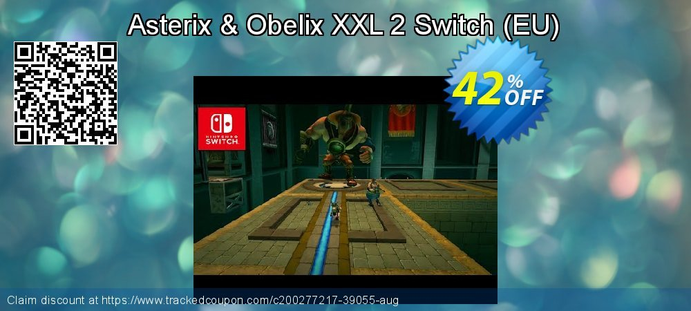 Asterix & Obelix XXL 2 Switch - EU  coupon on National Kissing Day sales