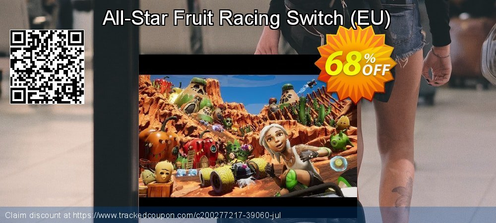 All-Star Fruit Racing Switch - EU  coupon on Father's Day offering sales