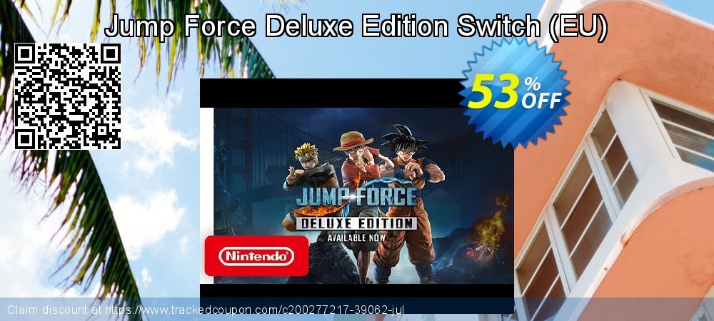 Jump Force Deluxe Edition Switch - EU  coupon on World Bicycle Day discounts