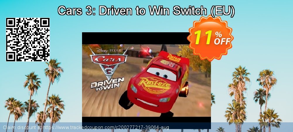 Cars 3: Driven to Win Switch - EU  coupon on Egg Day sales