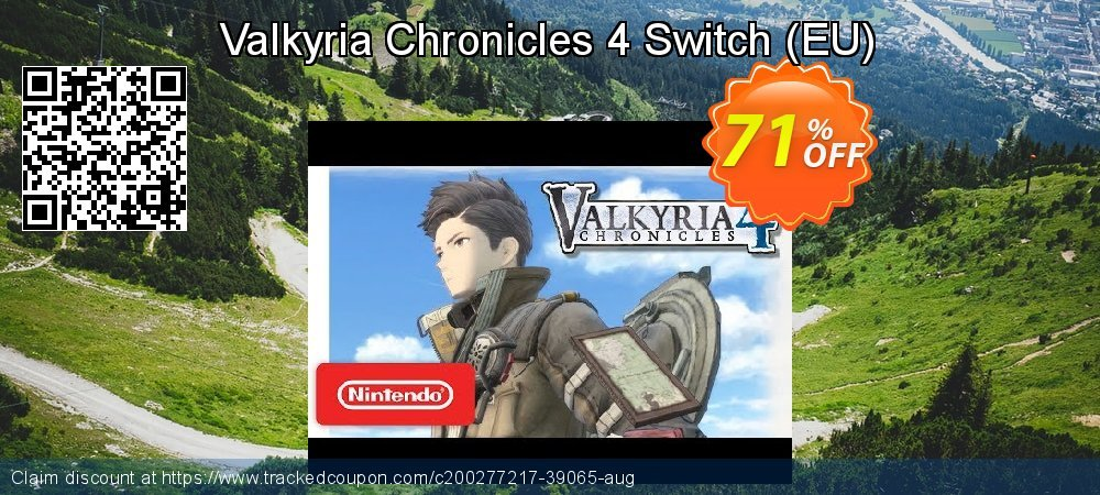 Valkyria Chronicles 4 Switch - EU  coupon on World Bicycle Day deals