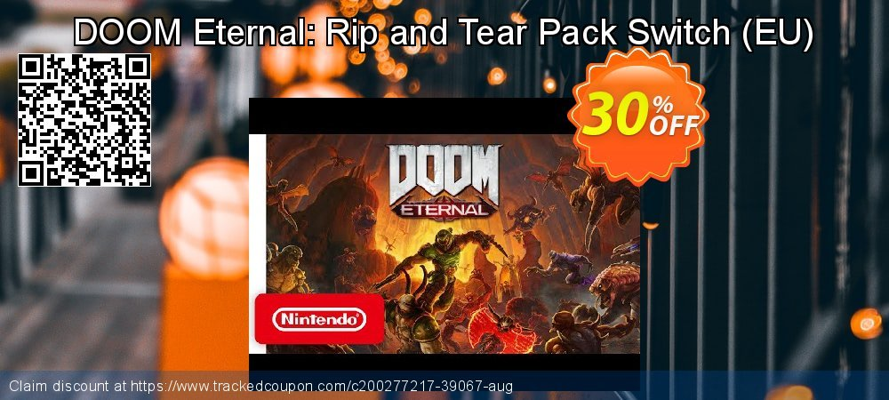 DOOM Eternal: Rip and Tear Pack Switch - EU  coupon on World Oceans Day discount
