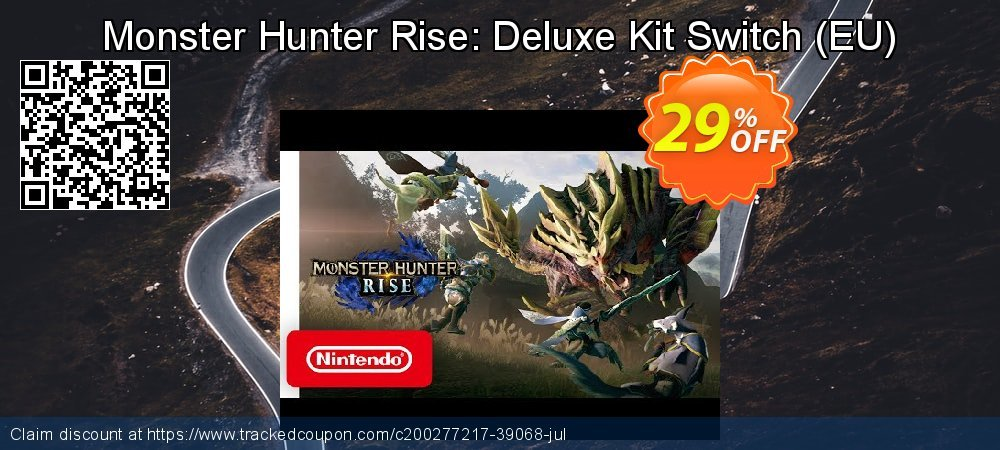 Monster Hunter Rise: Deluxe Kit Switch - EU  coupon on National Kissing Day offering discount