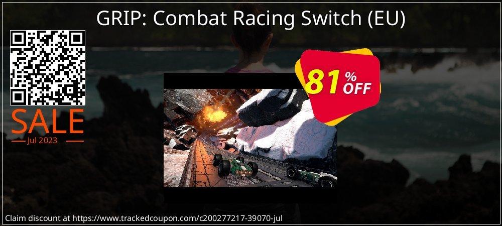 GRIP: Combat Racing Switch - EU  coupon on Hug Holiday super sale