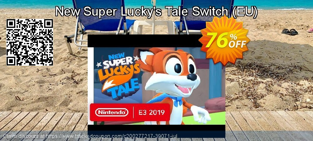 New Super Lucky's Tale Switch - EU  coupon on Camera Day discounts
