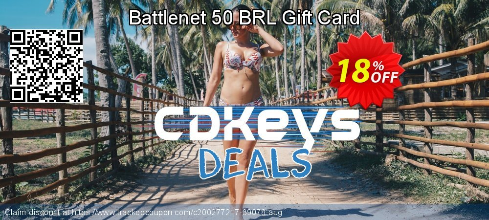 Battlenet 50 BRL Gift Card coupon on World Bicycle Day offering sales