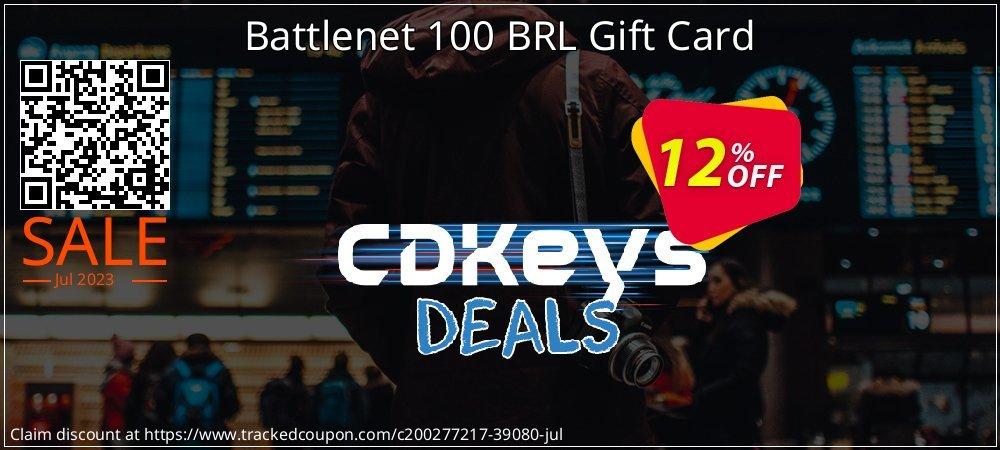 Battlenet 100 BRL Gift Card coupon on World Oceans Day discounts