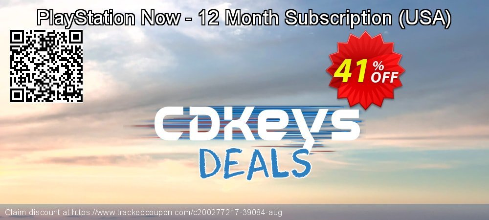PlayStation Now - 12 Month Subscription - USA  coupon on Camera Day offer
