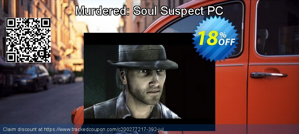 Murdered: Soul Suspect PC coupon on Back to School shopping offering discount