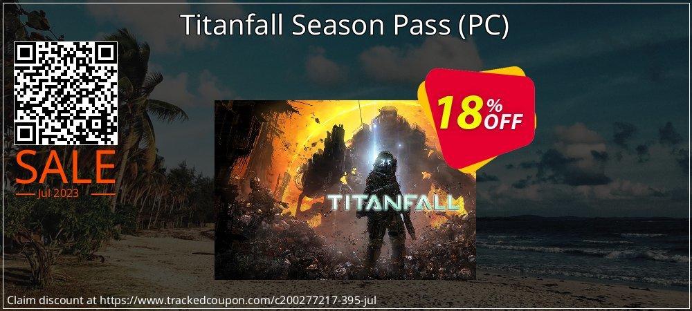 Titanfall Season Pass - PC  coupon on Back to School season discounts