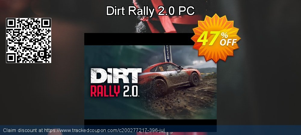 Dirt Rally 2.0 PC coupon on American Independence Day super sale