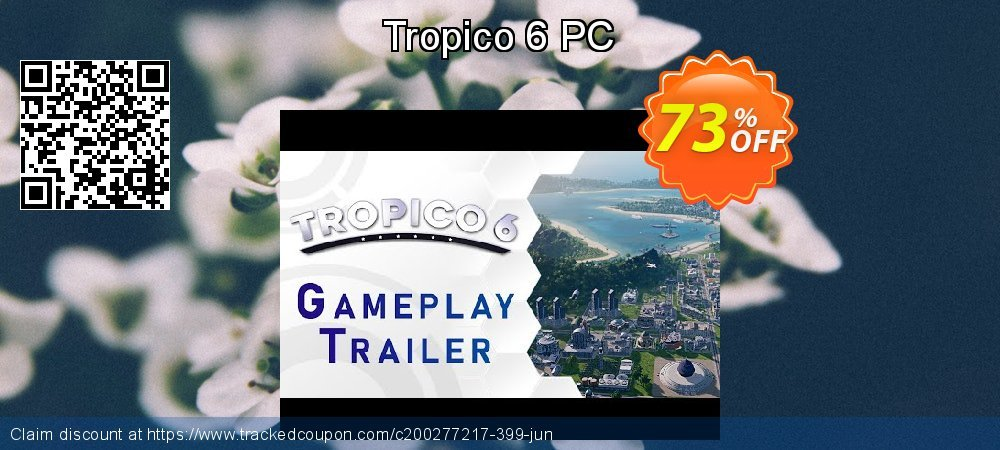 Tropico 6 PC coupon on World UFO Day sales