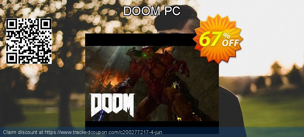DOOM PC coupon on Mom Day promotions