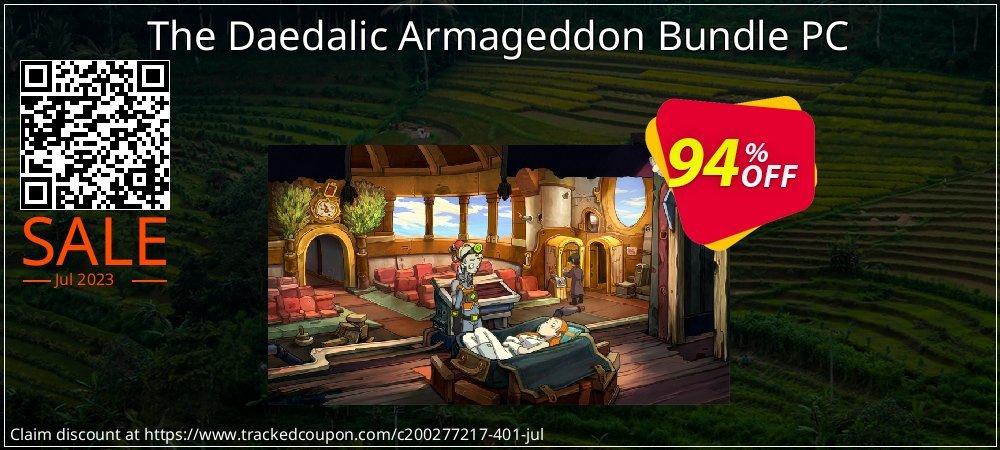 Get 96% OFF The Daedalic Armageddon Bundle PC offer