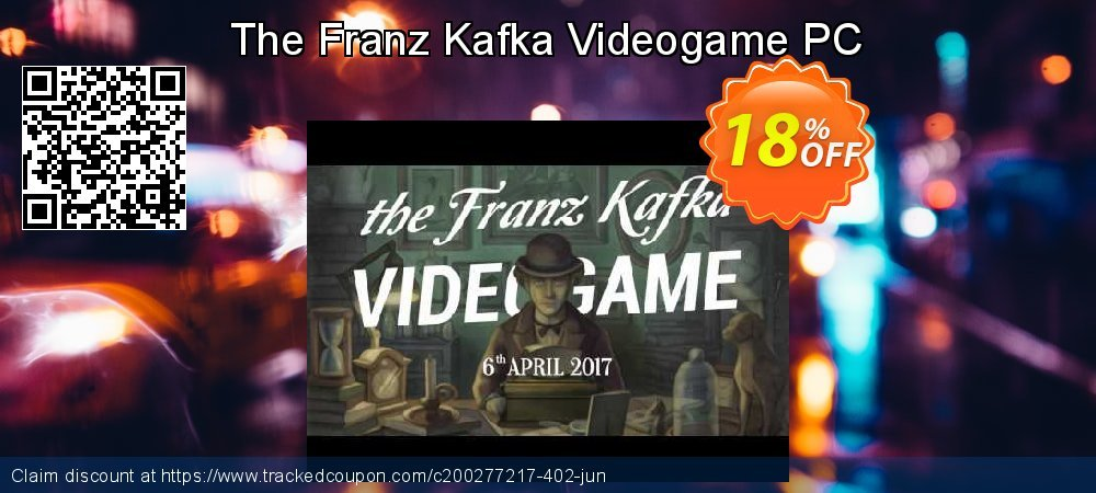 The Franz Kafka Videogame PC coupon on Halloween super sale
