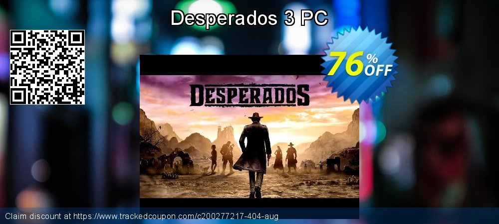 38 Off Desperados 3 Pc Coupon Code Sep 2020 Trackedcoupon