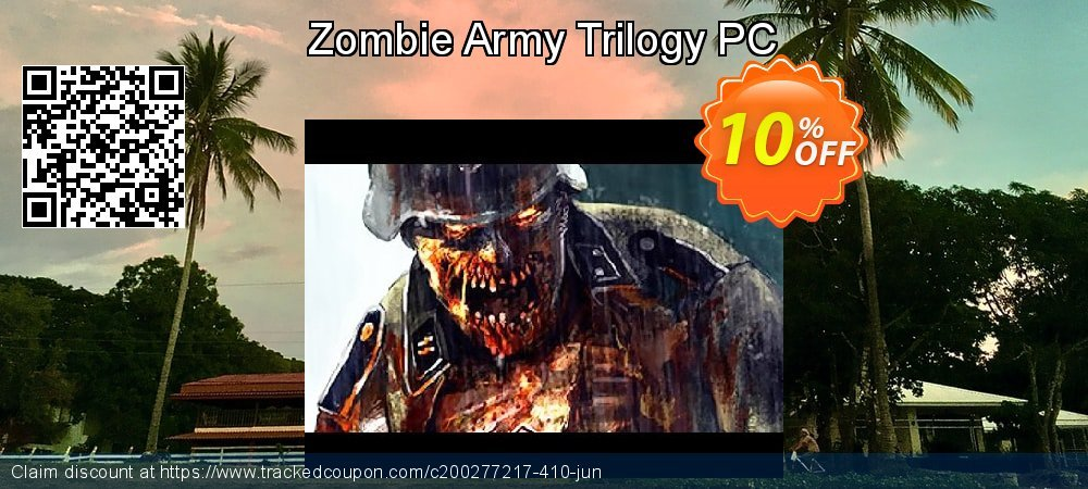 Zombie Army Trilogy PC coupon on Halloween offering sales