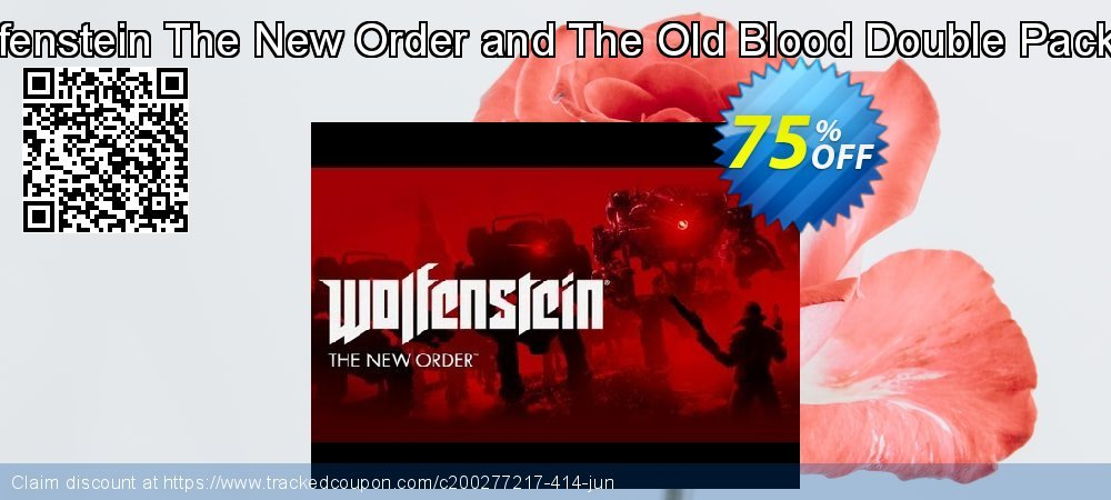Wolfenstein The New Order and The Old Blood Double Pack PC coupon on Video Game Day super sale