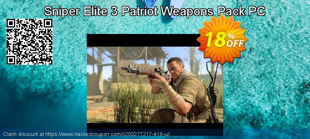 Sniper Elite 3 Patriot Weapons Pack PC coupon on University Student deals discount