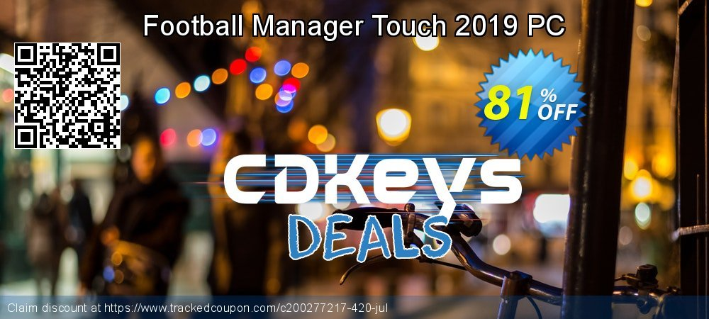 Football Manager Touch 2019 PC coupon on College Student deals offering sales