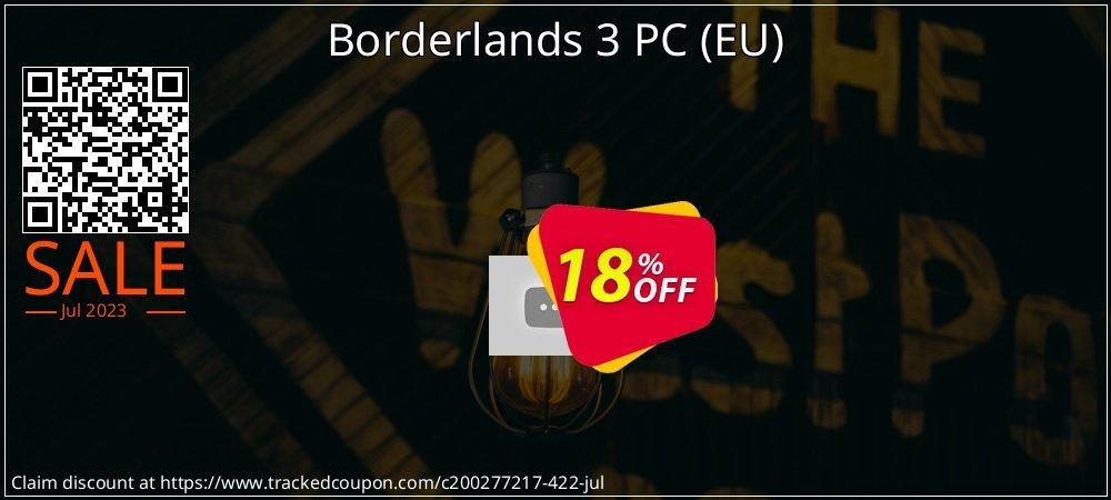 Borderlands 3 PC - EU  coupon on Back to School promo discounts