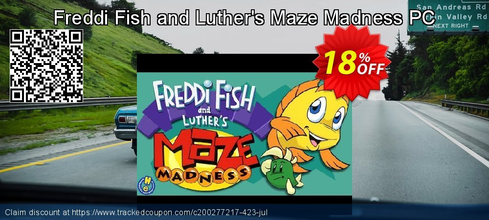 Get 10% OFF Freddi Fish and Luther's Maze Madness PC offering sales