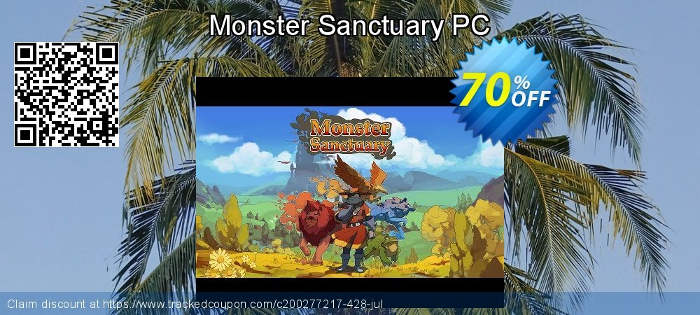 Monster Sanctuary PC coupon on Back to School coupons offering discount