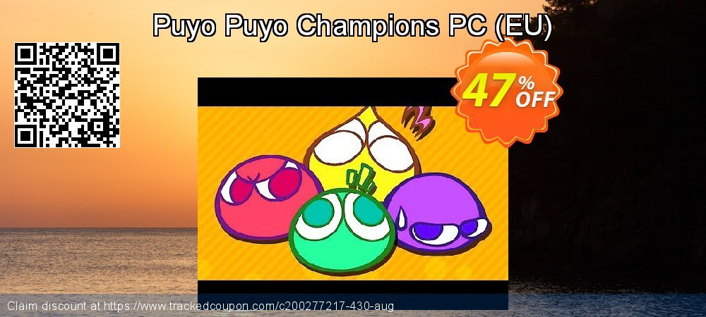 Puyo Puyo Champions PC - EU  coupon on Tattoo Day offering discount