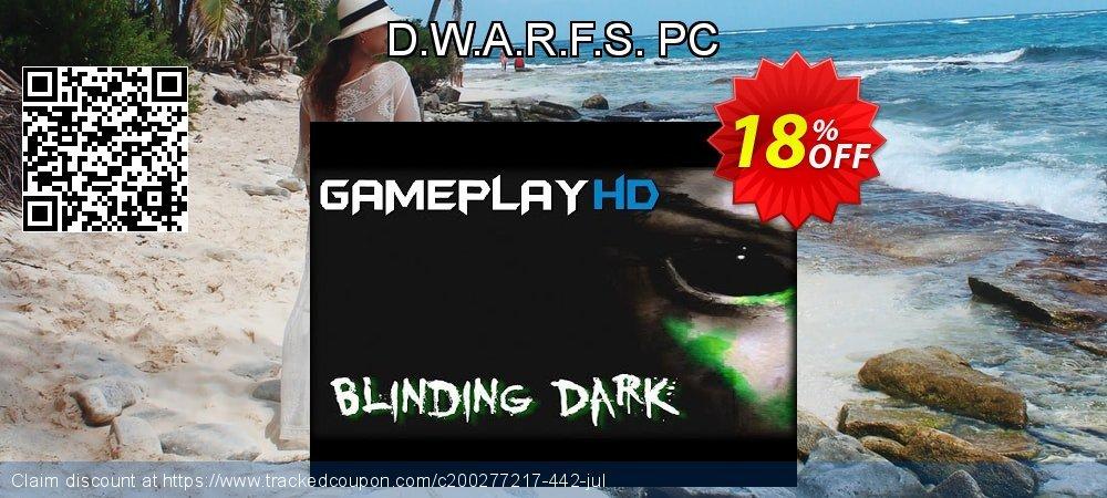 D.W.A.R.F.S. PC coupon on Back to School deals sales