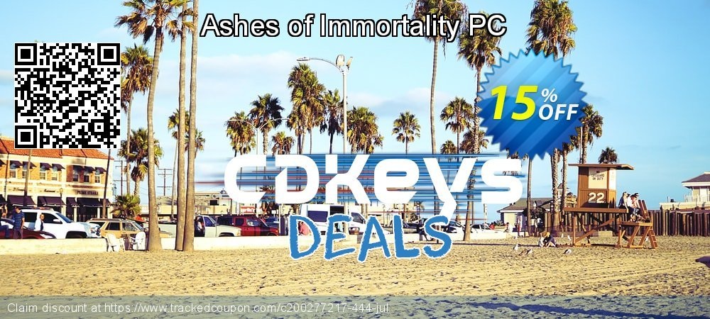 Ashes of Immortality PC coupon on Back to School offer offer