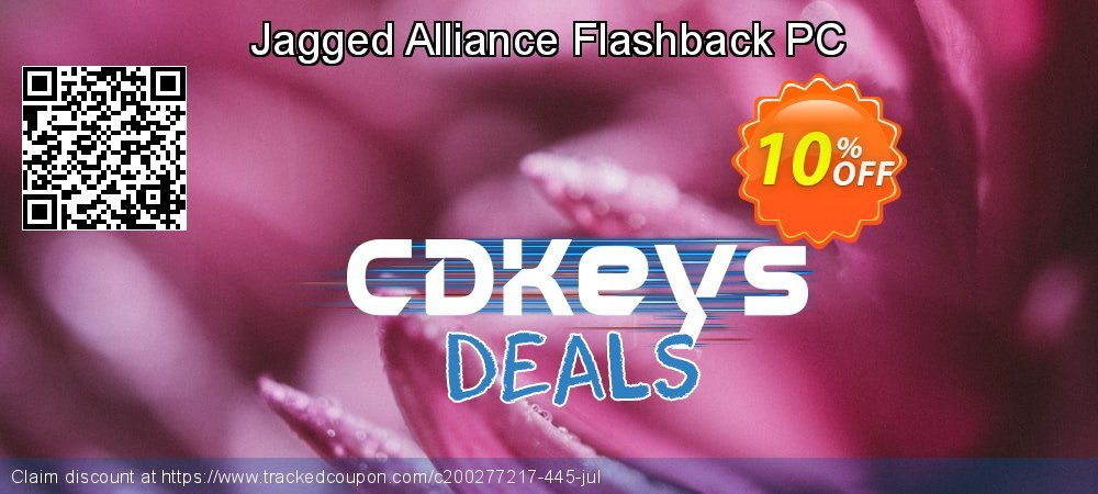 Jagged Alliance Flashback PC coupon on Parents' Day deals