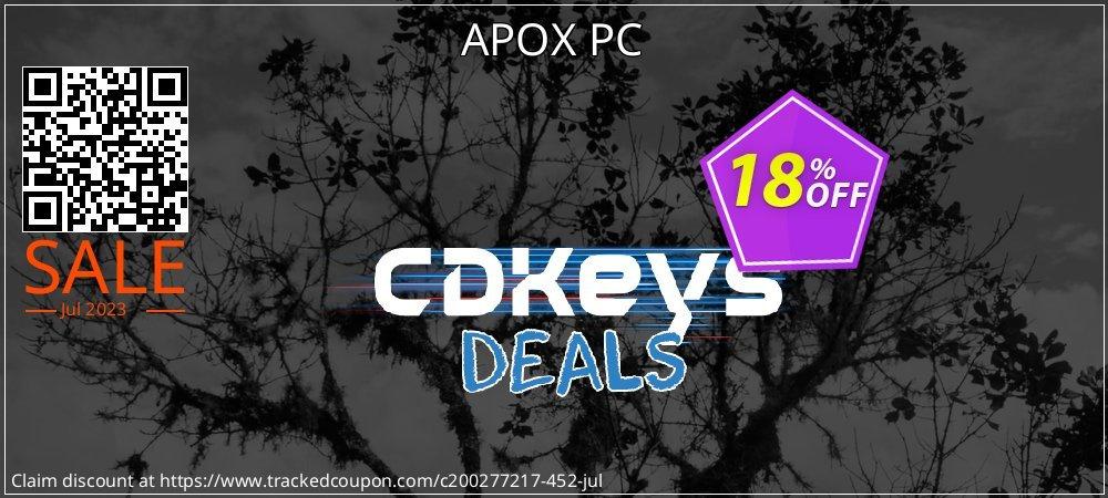 APOX PC coupon on Eid al-Adha promotions