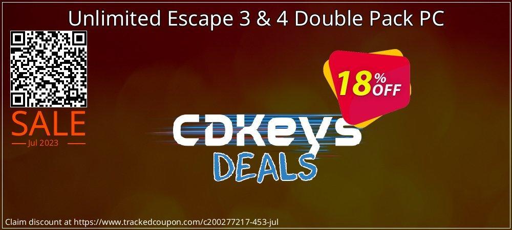 Get 10% OFF Unlimited Escape 3 & 4 Double Pack PC discounts