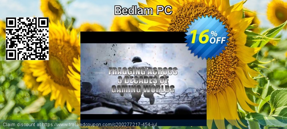 Bedlam PC coupon on College Student deals discount