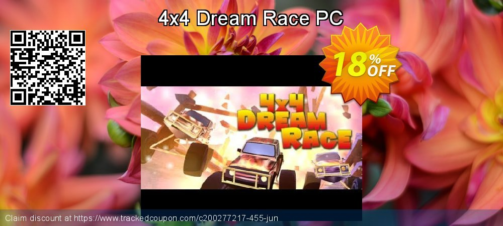 4x4 Dream Race PC coupon on Halloween offering sales