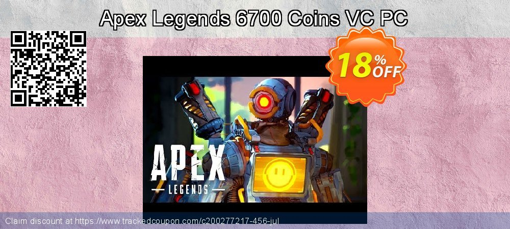 Apex Legends 6700 Coins VC PC coupon on Halloween super sale